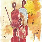 Lodge décor – African Women  by Maree Clarkson