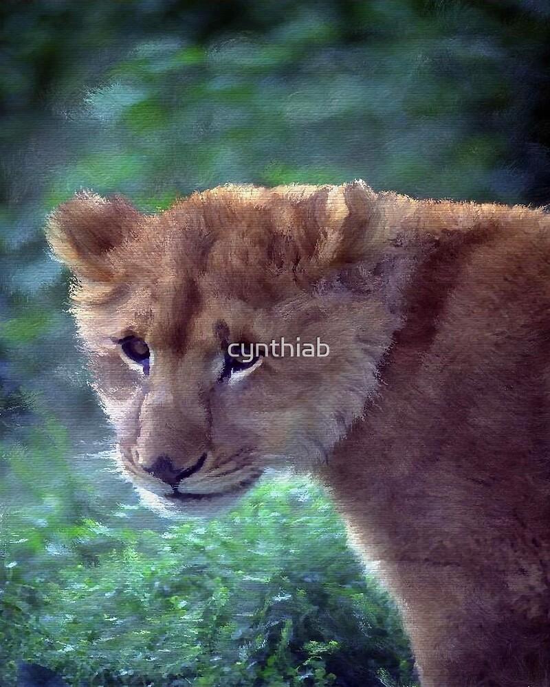 lion by cynthiab