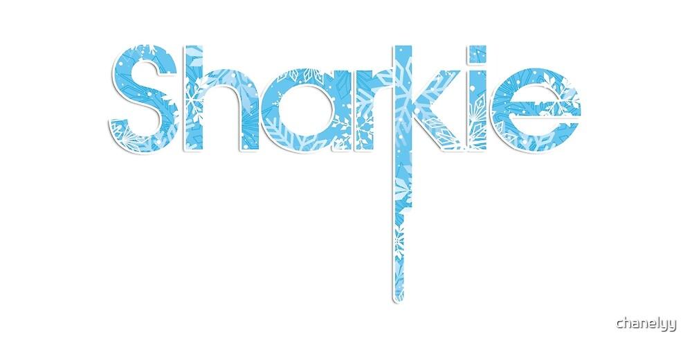 Snowflake Sharkie by chanelyy