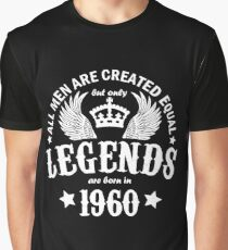 Legends are Born in 1960 Graphic T-Shirt