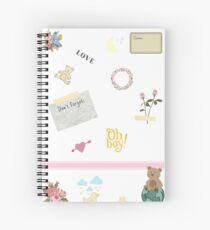 Scrapbook Style Notebook Spiral Notebook
