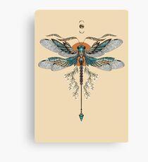 Dragon Fly Tattoo Canvas Print