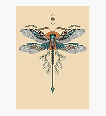 Dragon Fly Tattoo Photographic Print
