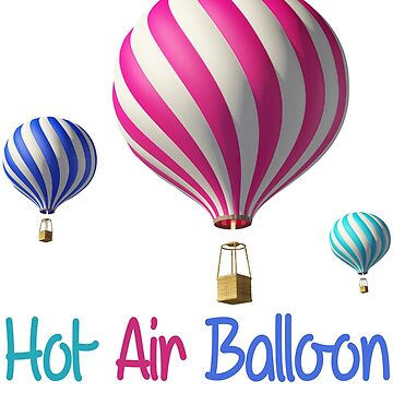 Hot Air Balloon by iwaygifts