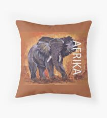 Lodge décor – Afrika Throw Pillow