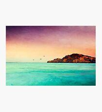 Glowing Mediterran Photographic Print