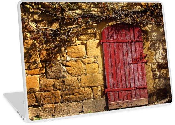 1522 Red Door by Hans Kawitzki