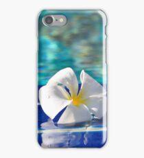 A tropical frangipani flower  iPhone Case/Skin