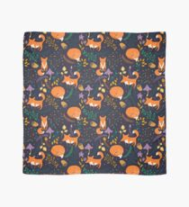 Foxes in the magic forest Scarf