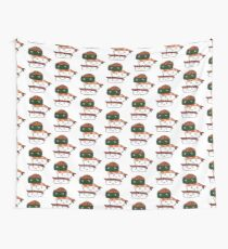 Cute sushi - Japanese food collection Wall Tapestry