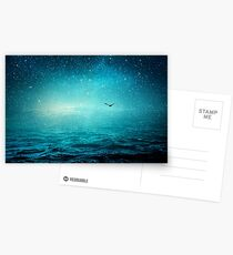 the sea and the universe Postcards