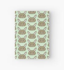 Cute bunny - Farm animals collection Hardcover Journal