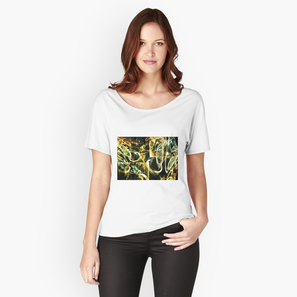 Circular Tension Women's Relaxed Fit T-Shirt Front