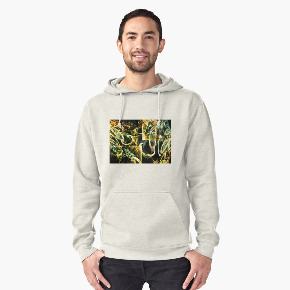 Circular Tension Pullover Hoodie Front