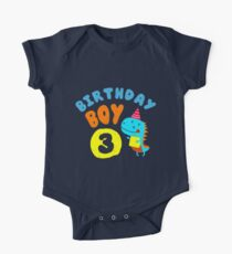 Birthday Boy – 3 Years Old Gift Kids Clothes