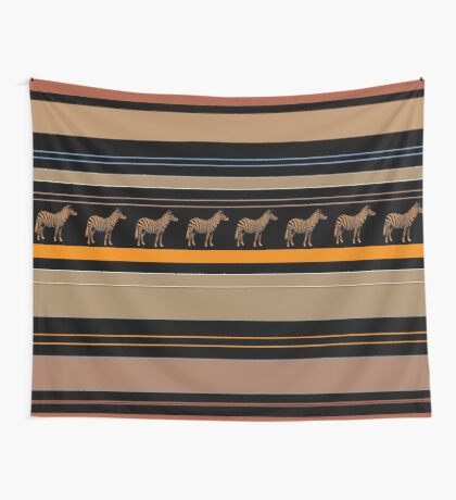 Lodge décor - Zebra safari Wall Tapestry
