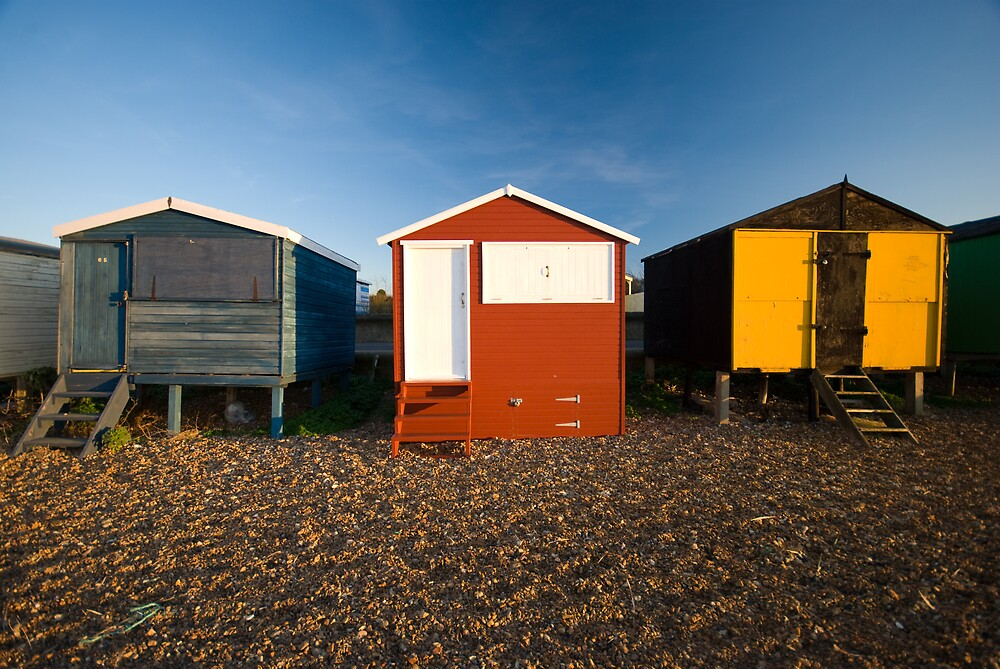 Beach Huts by Andrew Jackson