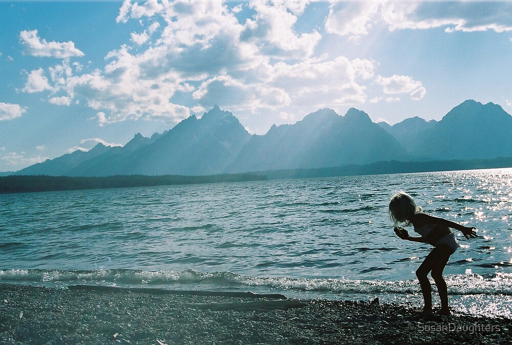 Julie at Jackson Lake by SusanDaughters