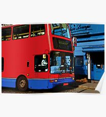 Bus in London Poster