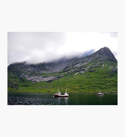 Kirkefjorden, Norway Photographic Print
