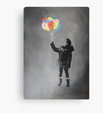 Anastasia with balloons Canvas Print