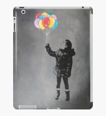 Anastasia with balloons iPad Case/Skin