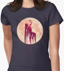 Sister Moon Womens Fitted T-Shirt