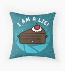 I Am A Lie Throw Pillow