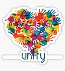 Unity in the World Sticker