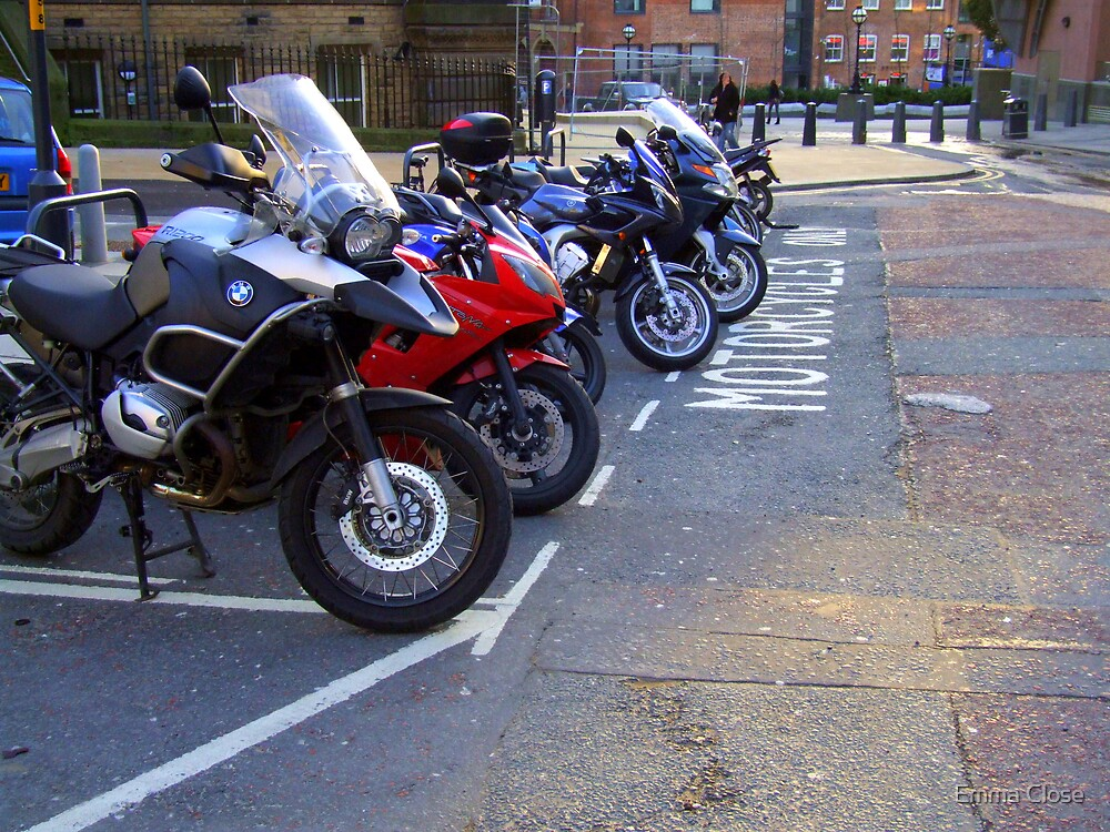 Leeds Motorcycle Park by Emma Close
