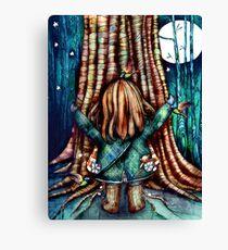 Tree Hugs Canvas Print