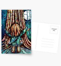 Baum Umarmungen Postkarten