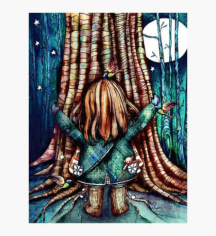 Tree Hugs Photographic Print