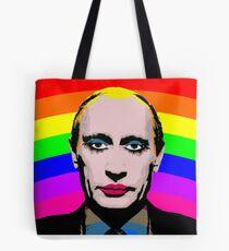Gay Clown Putin Tote Bag