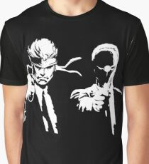 Metal Gear Fiction (Pulp Gear Solid) Graphic T-Shirt