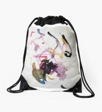 April Cow no.2 plus Pig Drawstring Bag