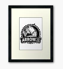Arrow To The Knee Framed Print