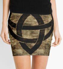 Wooden Celtic Knot Mini Skirt
