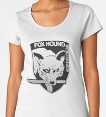 Fox Hound Special Force Group Women's Premium T-Shirt