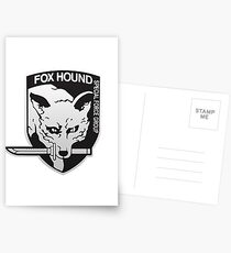 Fox Hound Special Force Group Postcards