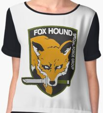 Fox Hound Special Force Group Chiffon Top