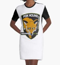 Fox Hound Special Force Group Graphic T-Shirt Dress