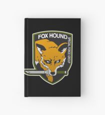 Fox Hound Special Force Group Hardcover Journal