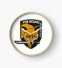 Fox Hound Special Force Group Clock