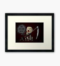 Dumb Death Framed Print