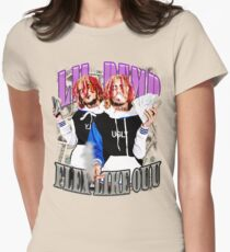 Lil Pump FLEX LIKE OUU Rap T-Shirt Womens Fitted T-Shirt