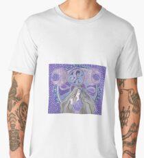 Celtic moon Goddess Men's Premium T-Shirt
