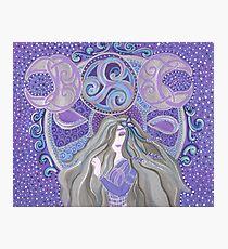 Celtic moon Goddess Photographic Print