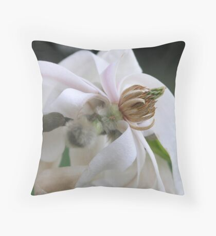 Wilting Beauty Throw Pillow