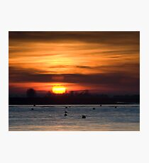 Burnham Evening Photographic Print